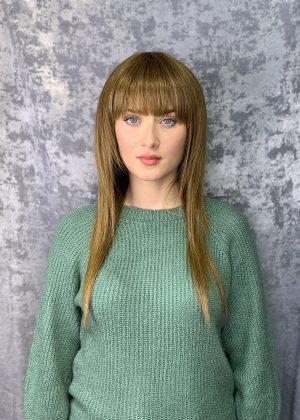 Парик длинные русые волосы