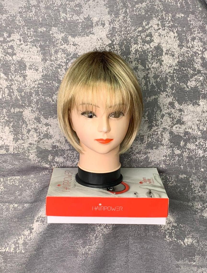 Парик каре цвет медовый блонд